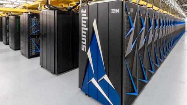 Dünyanın en hızlı çalışan bilgisayarı Summit çıktı