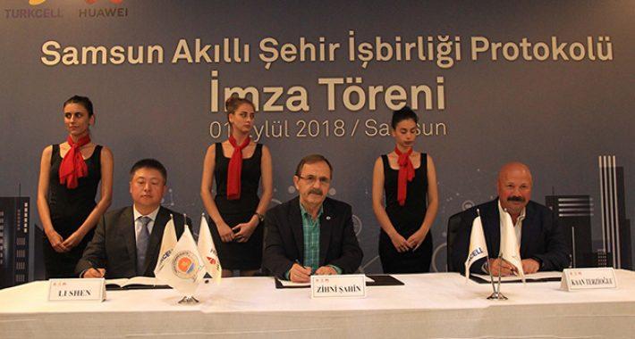 Dünya devi Türkiye'de akıllı şehir kuracak