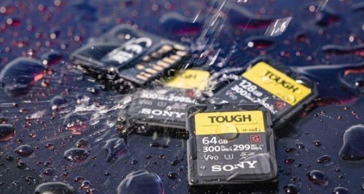 Sony, Her Koşula Dayanabilen SD Kartlarını Tanıttı